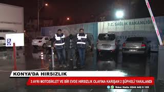 Konya'da hırsızlık!