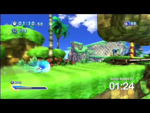 Run Green Hill Zone In Under 1:50 And Collect Some Nice Sonic Merch