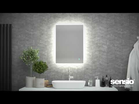 Sensio Serenity Backlit IP44 LED Mirror