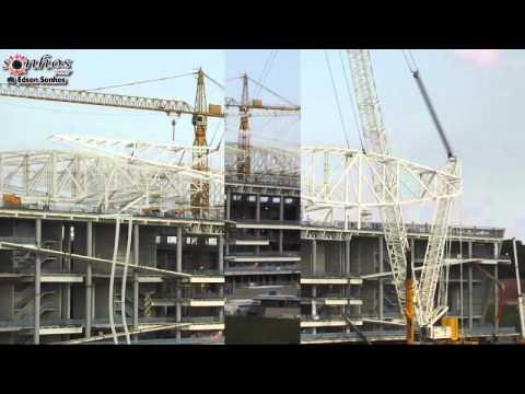 Arena Corinthians em 16 de Abril