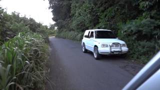 preview picture of video 'Dominica: Driving through the lush jungles of Dominca towards the capital Roseau'