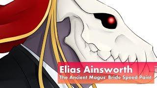 Elias Ainsworth  - (The Ancient Magus' Bride) - Elias Ainsworth - The Ancient Magus' Bride Speed Paint