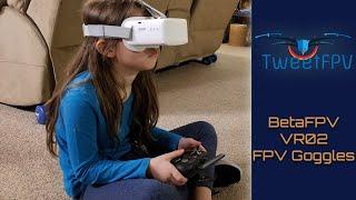 BetaFPV VR02 FPV Goggles #fpv #betafpv #goggles