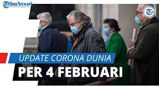 Update Corona Dunia per 4 Februari 2021: Total 104,9 Juta Terinfeksi, Ceko Geser Belanda di Nomor 20