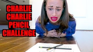 CHARLIE CHARLIE PENCIL CHALLENGE