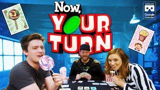 Play 'NOSH' In VR180: Now Your Turn W Ivan Van Norman, Becca Scott, And Vince Caso!