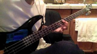 Can't Go Back (Bass Cover)