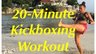 20-Minute Kickboxing Workout by Gosia Cano Fitness