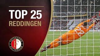 TOP 25 SAVES | #FeyenoordThuis
