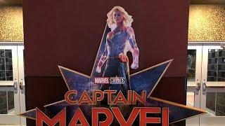 Captain Marvel Movie Review Cinemark 17 Fayetteville GA
