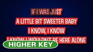 Joss Stone - Karma | Karaoke Higher Key