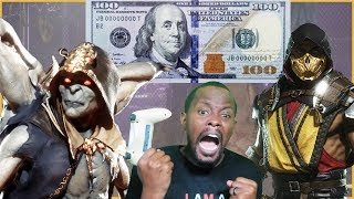 I Played Trent For $100... See What Happens NEXT! - MK11 King of the Hill (Part 2)