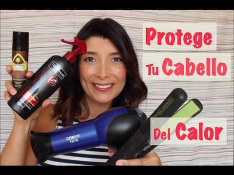 Protege el Cabello del Calor de la Plancha y el Secador - Thermal Hair Care