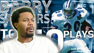 AYE YOO!!! THIS MAN TOO FAST!!! Barry Sanders TOP 50 Most Ridiculous Plays Of All Time Reaction