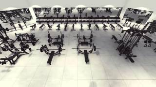 Virtual Tour of Arsenal Strength GYM DESIGN