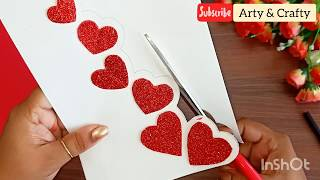Valentines Day Cards | Valentine Cards Handmade Easy | Love Greeting Cards Latest Design Handmade