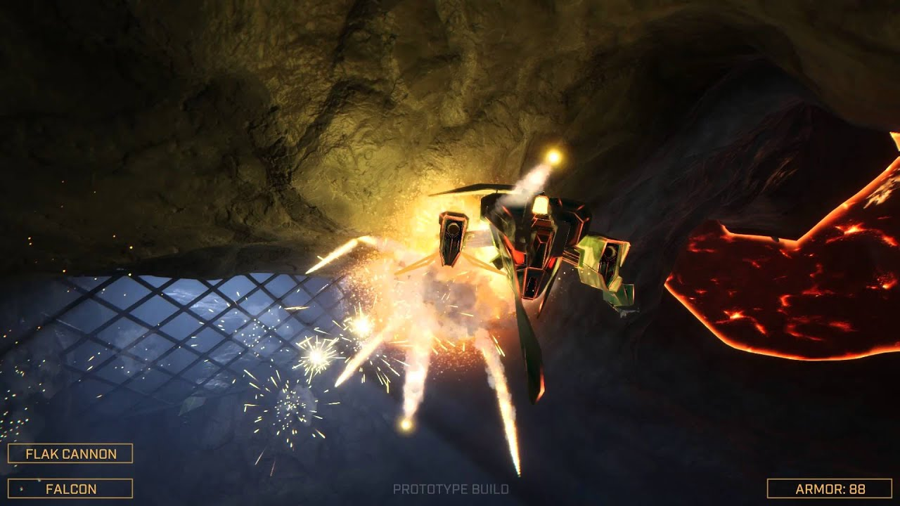 Descent-Inspired 6-DOF Shooter Overload Just Gets Over The Kickstarter Line