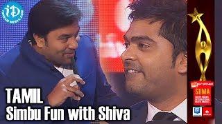 SIIMA 2014 Tamil - Simbu Fun with Shiva | Stylish Star in South Indian Cinema