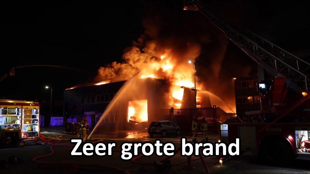 06-08-2021 Amsterdam – brand