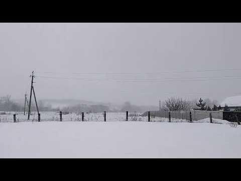 Музыка и снег. Падал прошлогодний снег. Лучшая музыка. Жизнь в деревне.