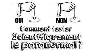 Ep13 Comment Tester le Paranormal avec la Science ? (Les cartes de Zener)
