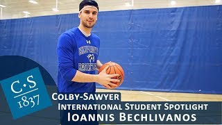 International Student Spotlight: Ioannis Bechlivanos