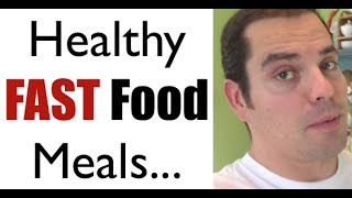 Healthy Low Carb FAST Food Meal (plus a Fat-Loss Tip!)