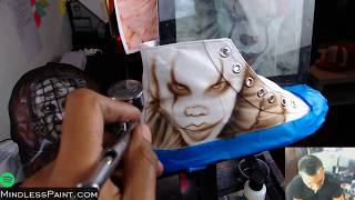 Pennywise Halloween High Top Shoes | Horror Art Stream