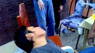 preview picture of video 'borracho de dzitbalche cachetadas'