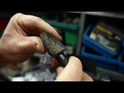 Motorrad LED Blinker Miniblinker aus China - Test Empfehlung - 4 Stück für € 10,99 - Top oder Flop?