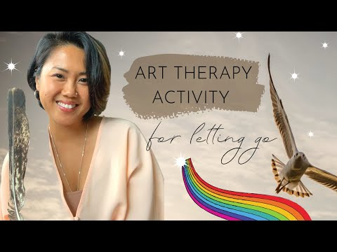 Art Therapy Activity for Letting Go