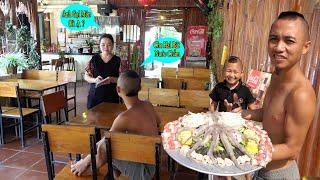 Troll Ra Quán Không Gọi Đồ Ăn - Không Nhịn Được Cười Với Anh Em Tam Mao