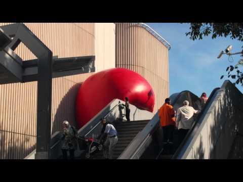 Redball project - timelapse - métro Bougainville - Travellings 2015, Marseille