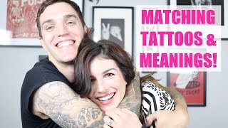 I GOT MATCHING TATTOOS WITH MY HUSBAND... A LOT OF THEM! | Shenae Grimes Beech