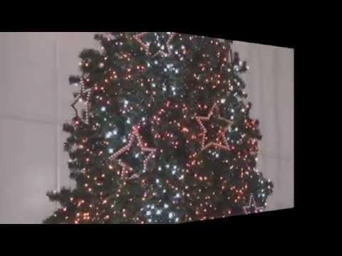LED Lichterkette Weihnachtsbaum Beleuchtung grün-rot Flash