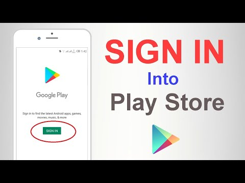 how to sign in into play store || how to login google play store || play store kaise sign in kare