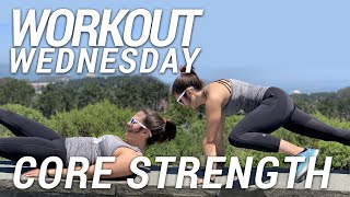 Workout Wednesday | Fun Core Workout for Runners