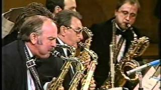 """Bill Holman conducting his composition """"Theme and Variations"""