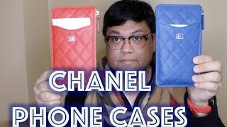 Chanel phone pouch case unboxing | docLUXURY