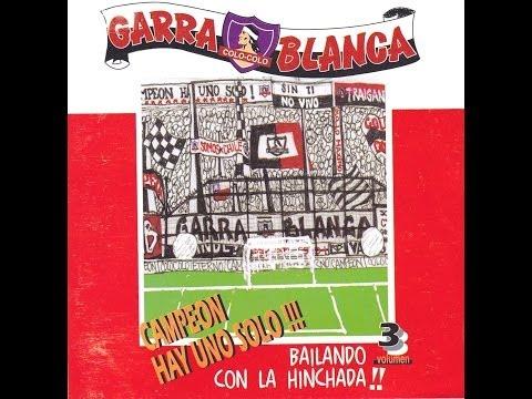 """""""Garra Blanca - Colo-Colo - """"Bailando con la hinchada!! - Campeón hay uno solo!!"""""""" Barra: Garra Blanca • Club: Colo-Colo"""