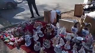Блошиный рынок в Одессе. Flea market in Odessa.