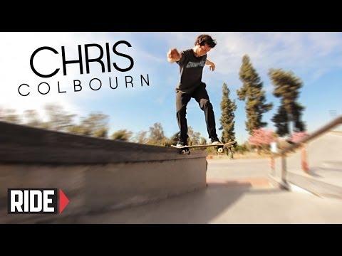 Chris Colbourn Skates N Hollywood Park -  Bones Bearings