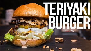 The Best Teriyaki Burger | SAM THE COOKING GUY 4K