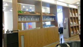 preview picture of video 'business class lounge austrian airlines, vienna'