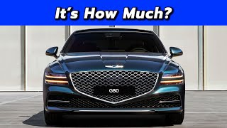 2021 Genesis G80 Pricing and Feature Comparison - Quick Look