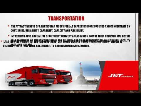 LOGISTIC VIDEO - J&T EXPRESS MALAYSIA