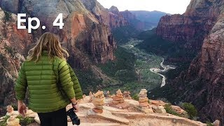 The Most Unique Hike In The USA... Angels Landing