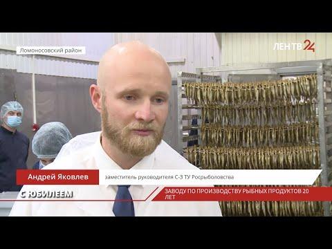 Заводу по производству рыбных продуктов в Ломоносовском районе 20 лет