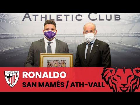 Ronaldo en San Mamés I Athletic Club- Real Valladolid I Agur-ekitaldia