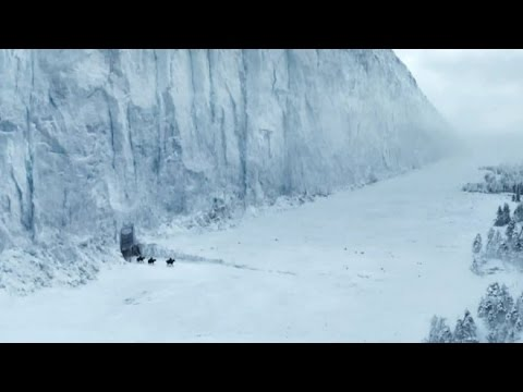 The Biggest ICE WALL(ICE GLACIERS) in the World